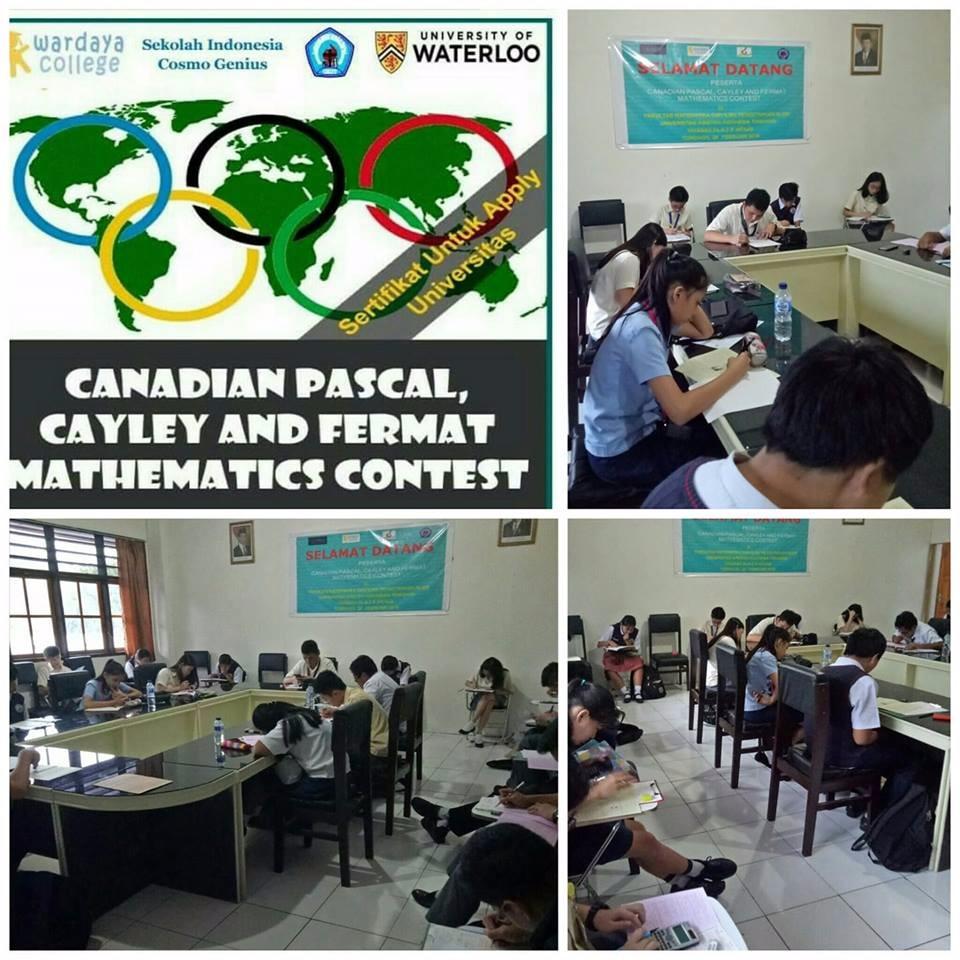 Olimpiade Matematika Internasional Canadian Pascal, Cayley, and Fermat Mathematics Contest