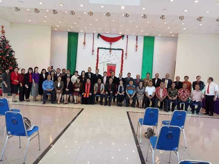 Pelantikan Pimpinan Rektorat dan Fakultas Se UKIT tgl 6 January 2018